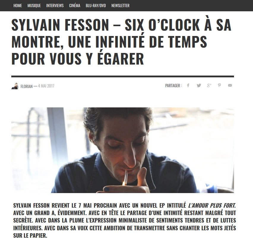 Sylvain dans Skriber