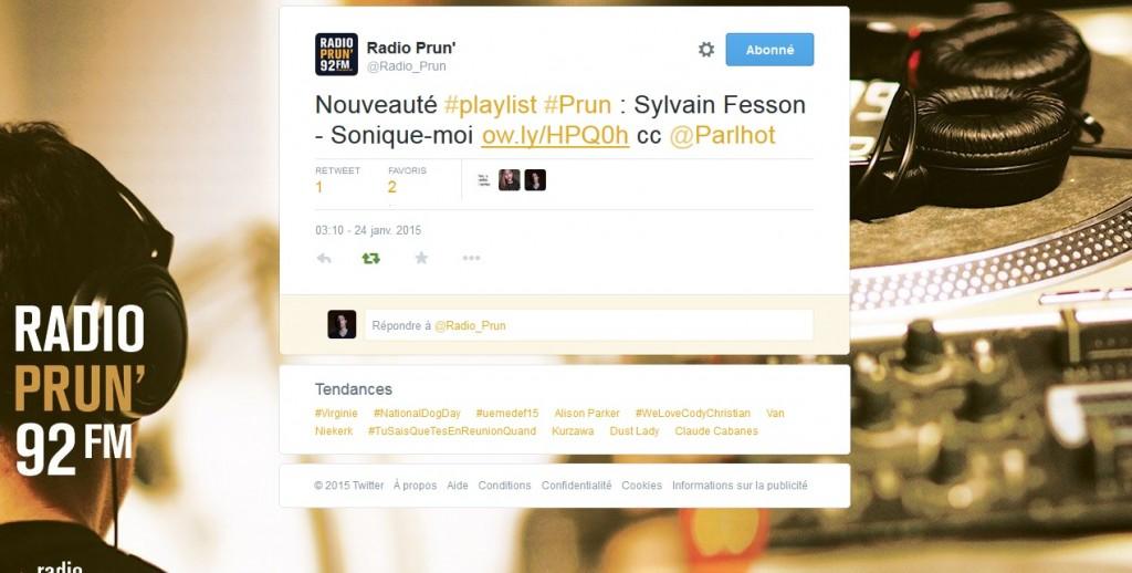 Twitter Prun Radio